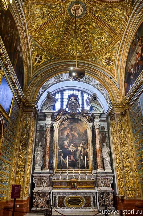валлетта собор святого иоанна