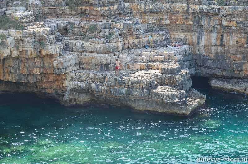 полиньяно-а-маре пляж