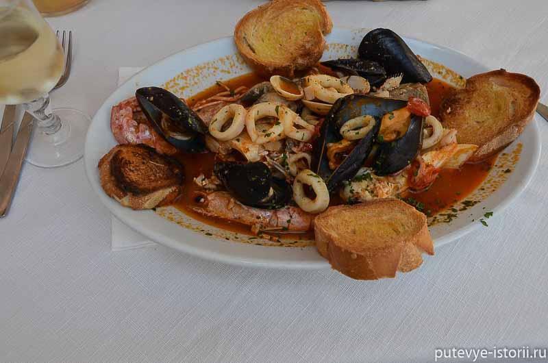 рыбный суп по-галлипольски