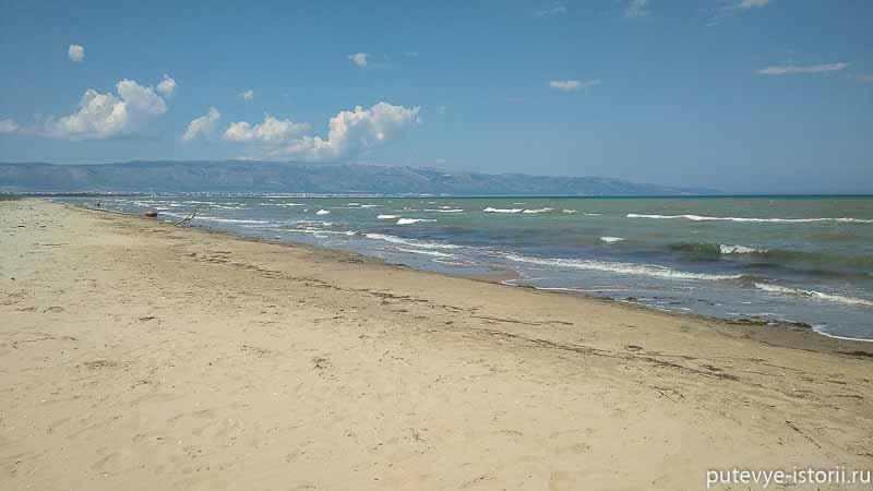 пляжи апулии манфредония