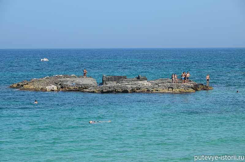 монополи пляжи апулии