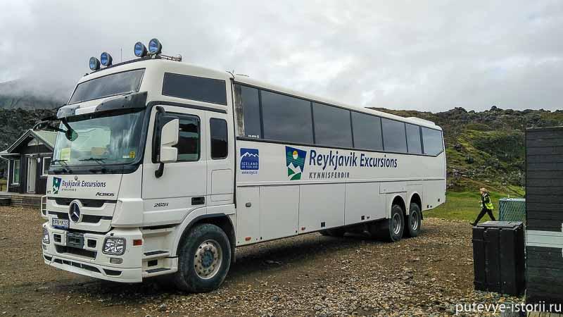 исландия автобусы
