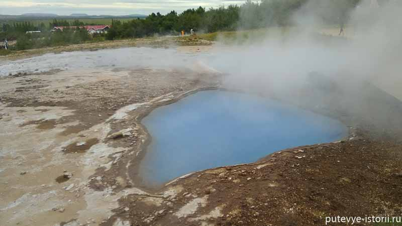 исландия долина гейзеров
