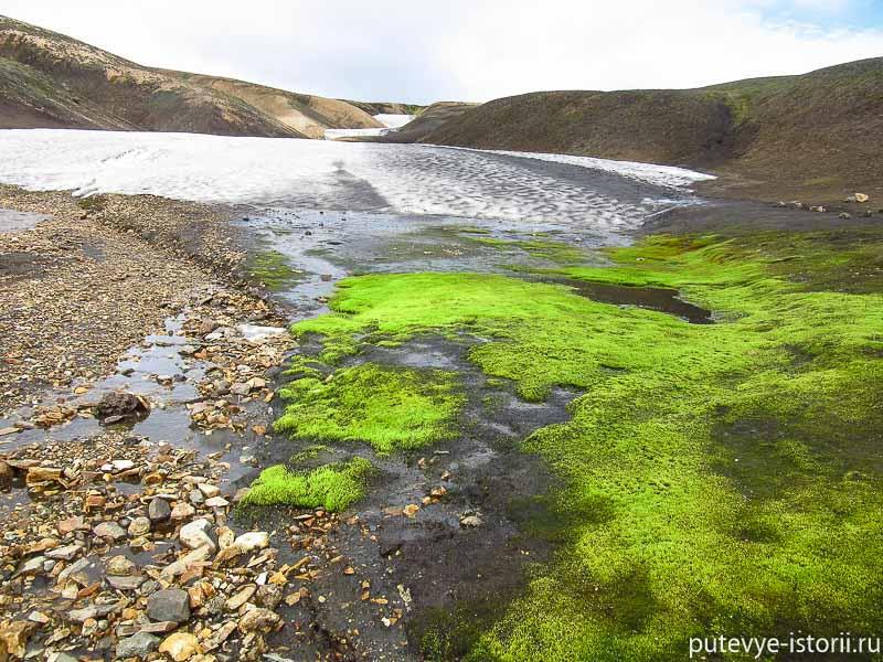 исландия горячие источники