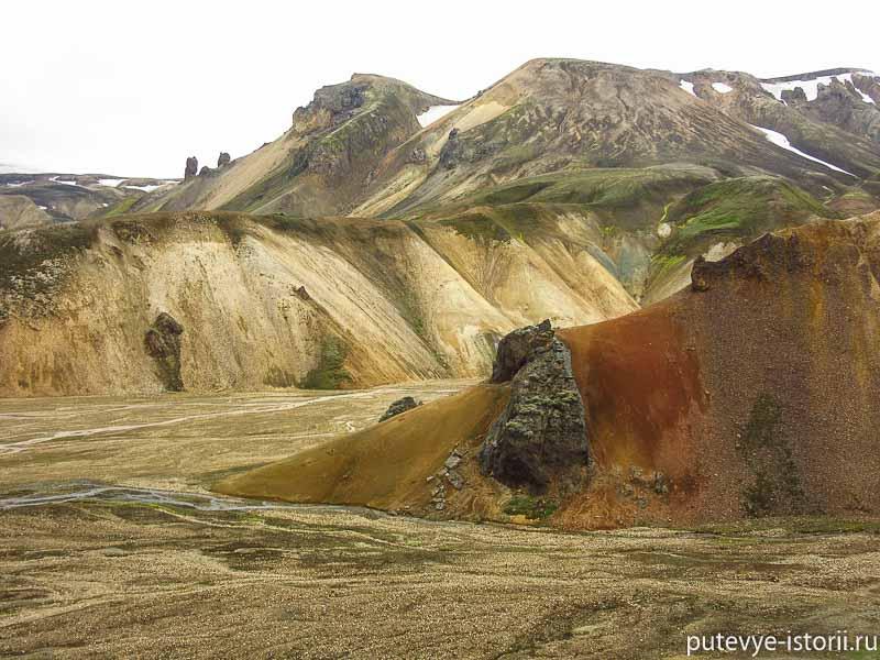 исландия цветные горы маршрут