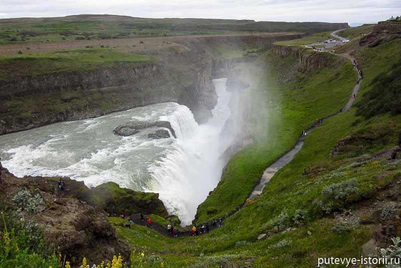 водопад Гудльфосс