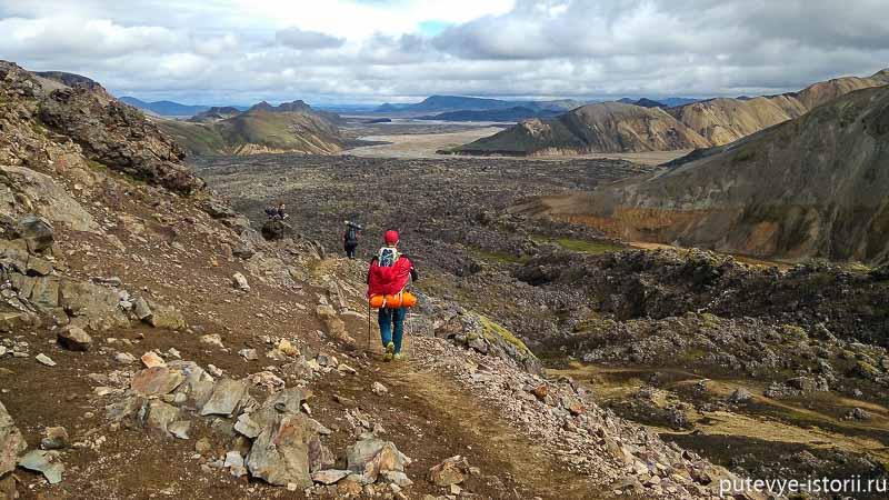 исландия пешие маршруты