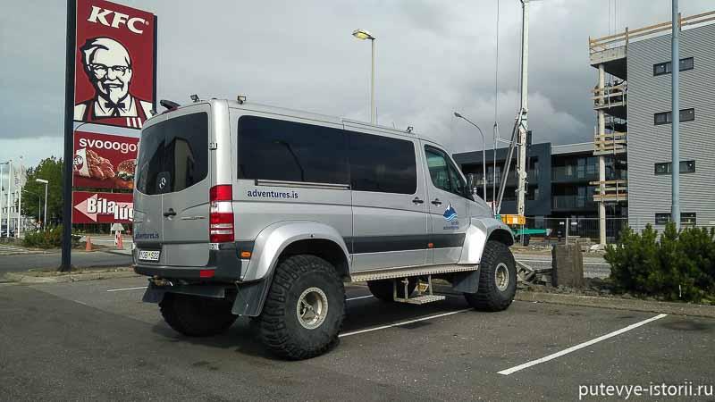 исландия автомобиль