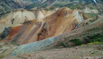 Цветные горы Ландманналаугар