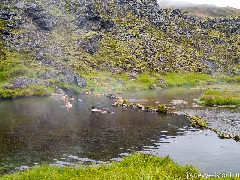 исландия термальные купальни