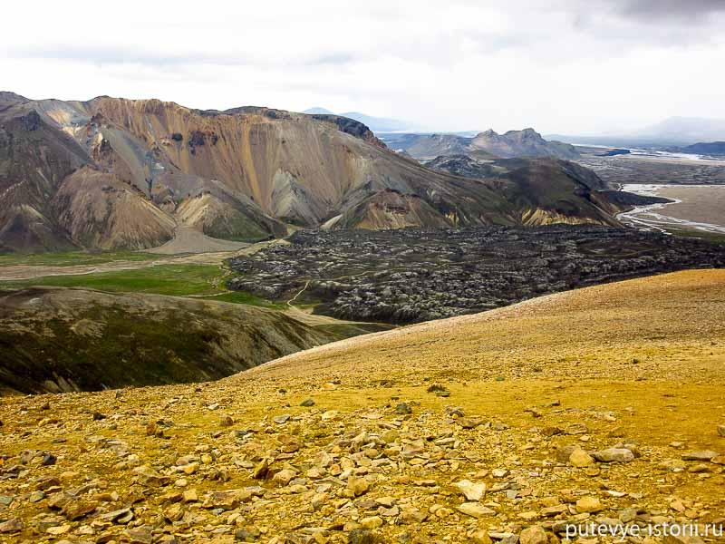 риолитовые горы исландии