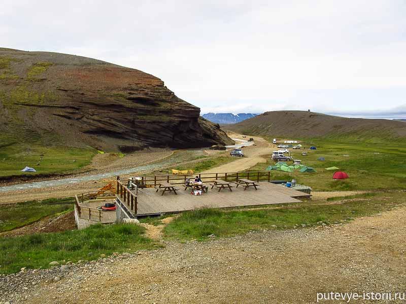 исландия кемпинг