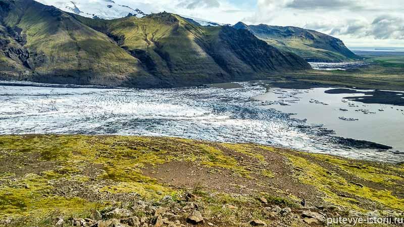 исландия ледник