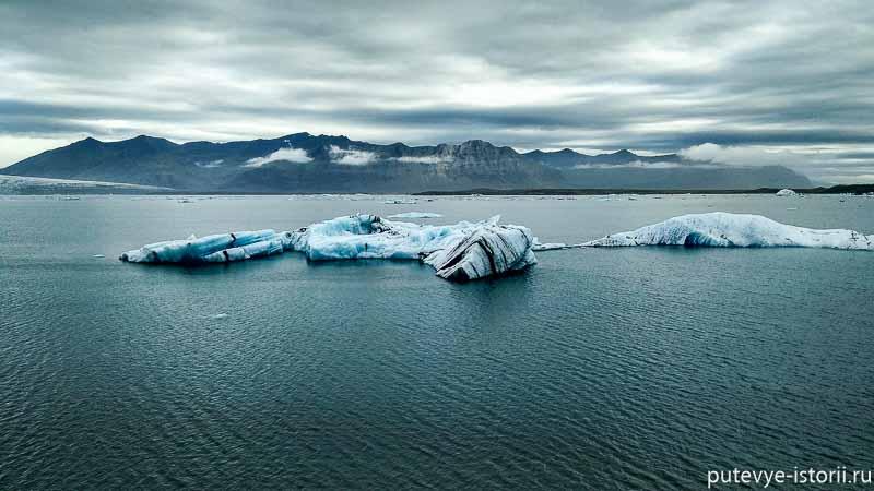 исландия ледовая лагуна
