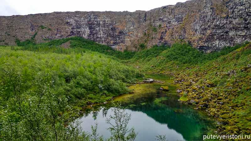 исландия каньон аусбирги