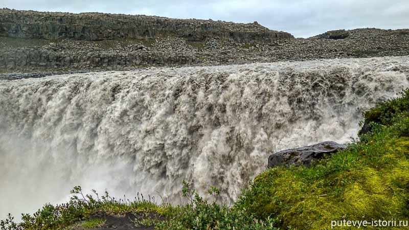 исландия водопад деттифосс