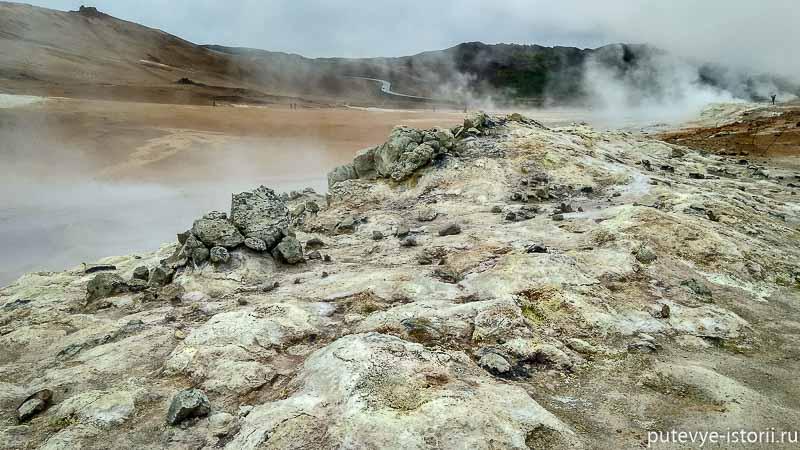 исландия озеро Миватн