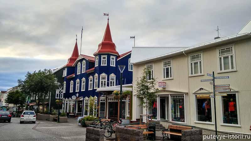 исландия акюрейри