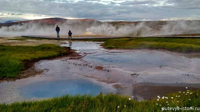 исландия термальные поля