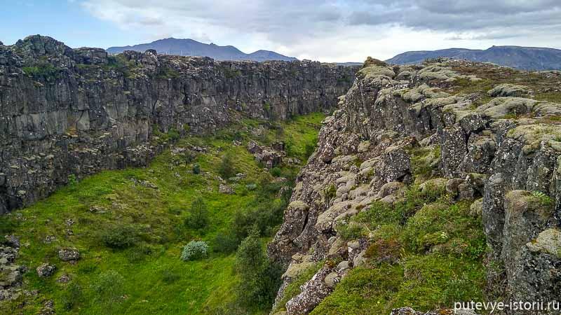 исландия разлом плти