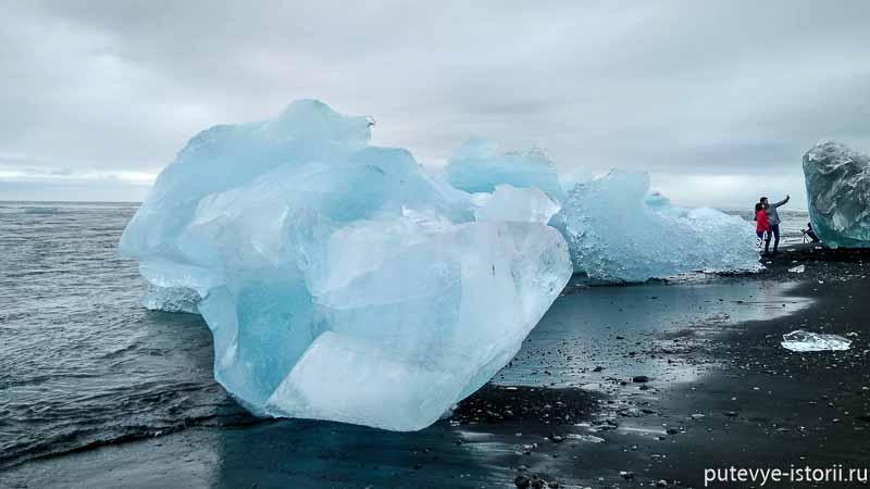 ледниковая лагуна йокульсаурлоун