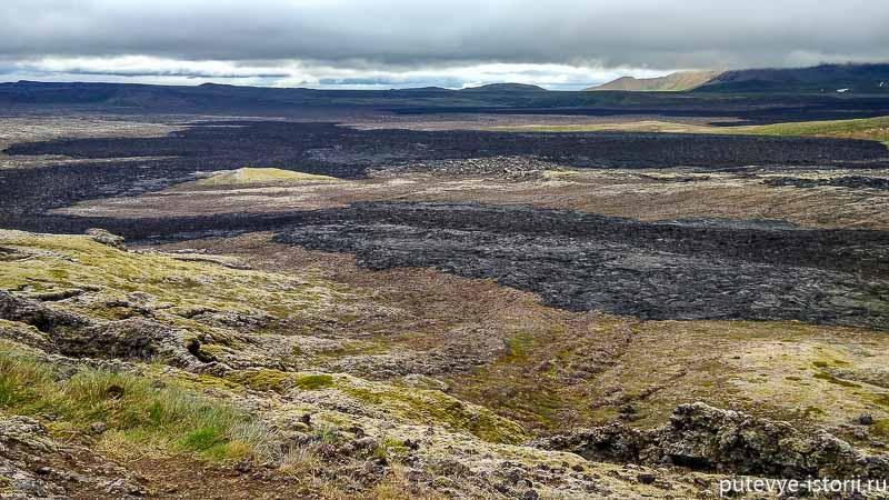 вулкан крафла исландия