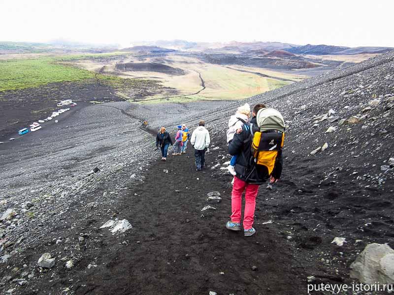 миватн кратер вулкана Hverfjall