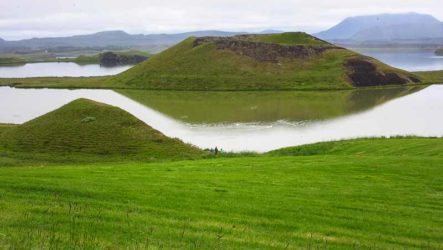 Озеро Миватн и необычные места вокруг