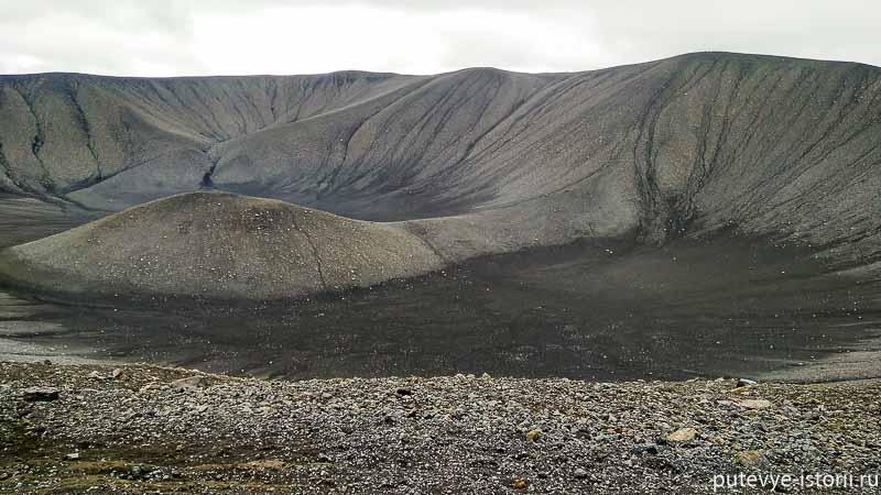 Кратер вулкана Hverfjall
