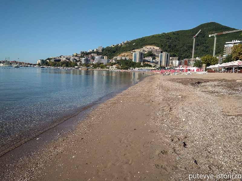 будва словенский пляж