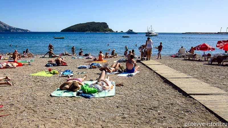 славянский пляж будва