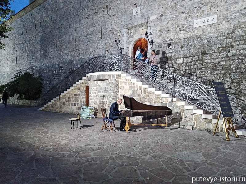 крепость будва