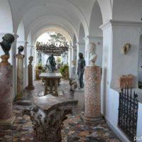 Вилла Сан-Микеле на Капри, ее сады и бельведеры