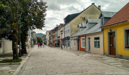 Цетине, первая столица Черногории