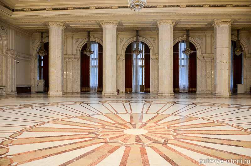 Дворец парламента в Бухаресте