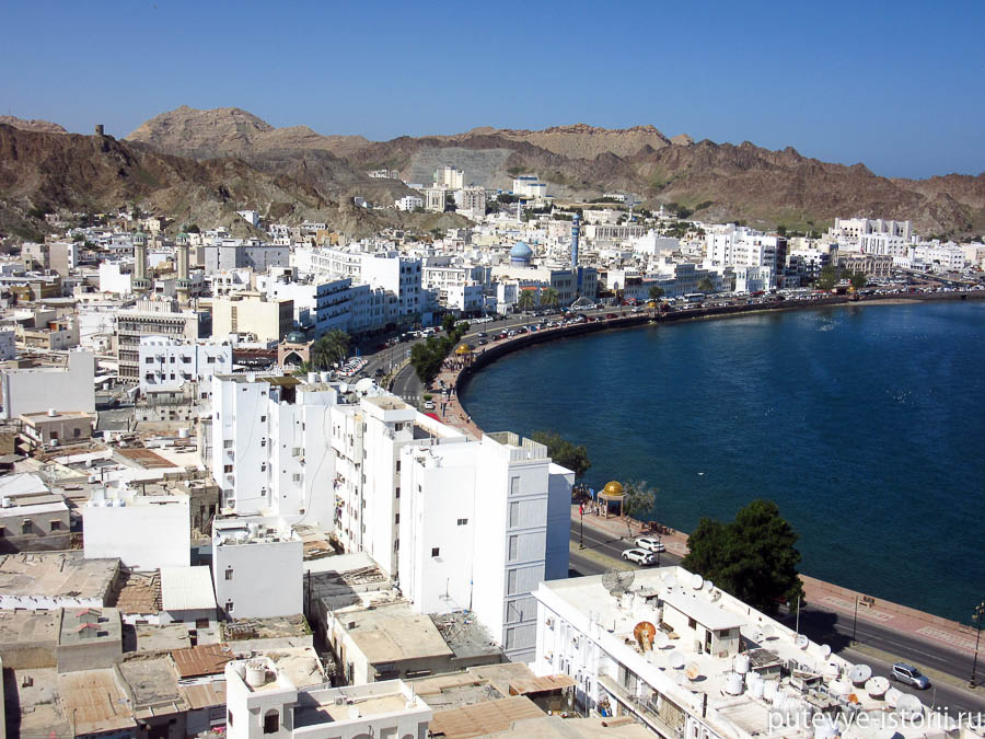 картинка фотография курорта Маскат в Омане