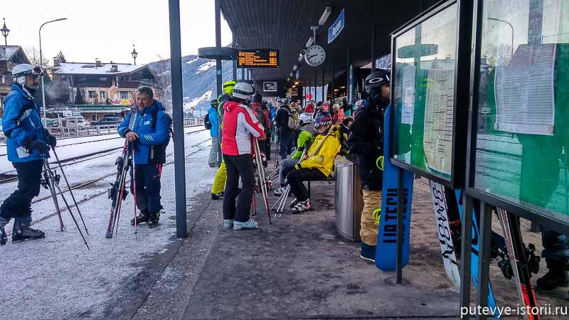 вокзал в Майрхофене