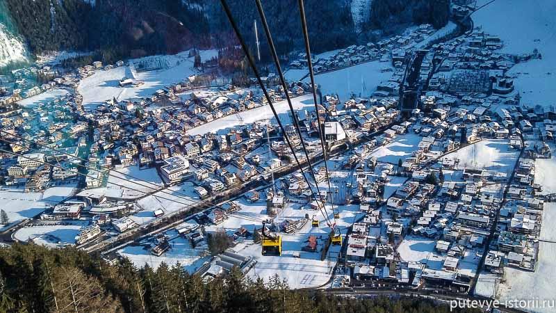 майрхофен горнолыжный курорт