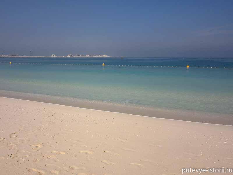 дубай пляж