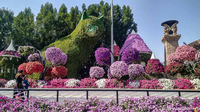 парк цветов дубай авеню диснея