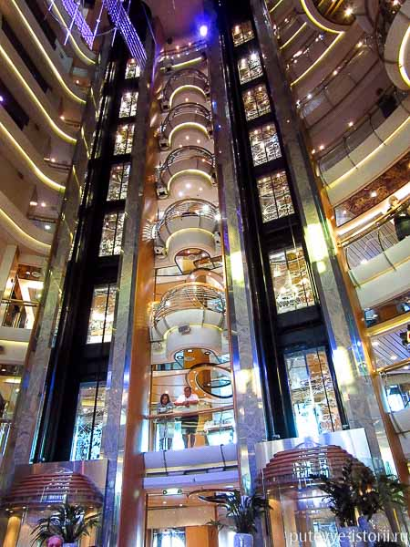 лайнер jewel of the seas