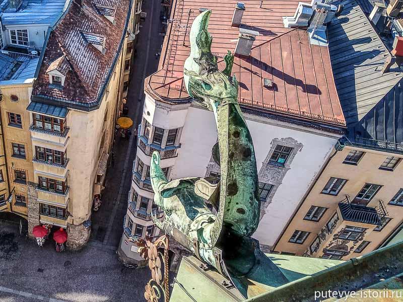 инсбрук городская башня