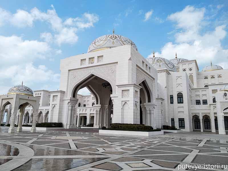 абу даби дворец каср аль ватан