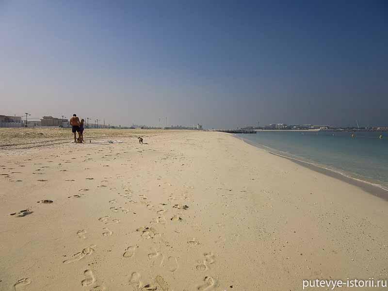 дубаи пляж фото