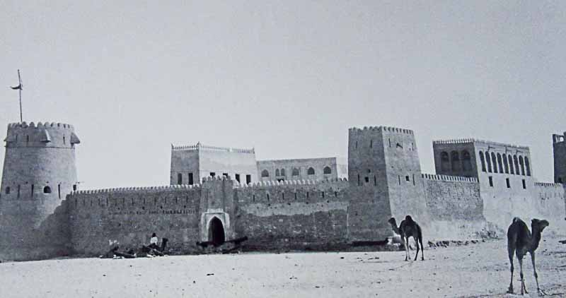белый форт абу-даби