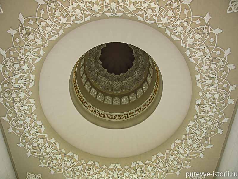 большая мечеть в абу даби