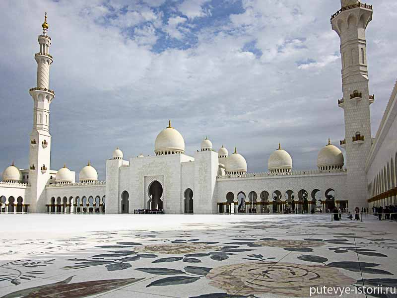 мечеть абу даби