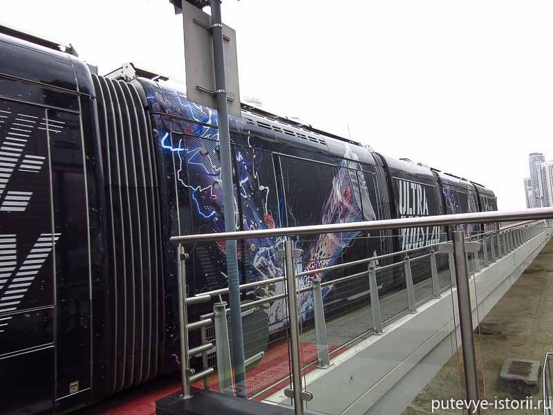 дубай трамвай