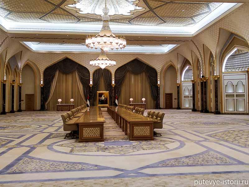 абу даби президентский дворец фото