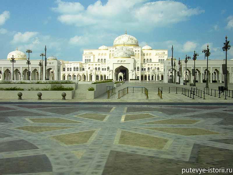 президентский дворец в абу даби